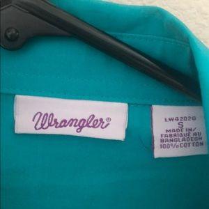 Wrangler Tops - Wrangler women's button up
